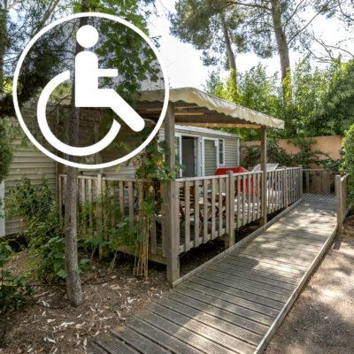 Camping PMR Var (Personnes à Mobilité Réduite) pour fauteuil roulant