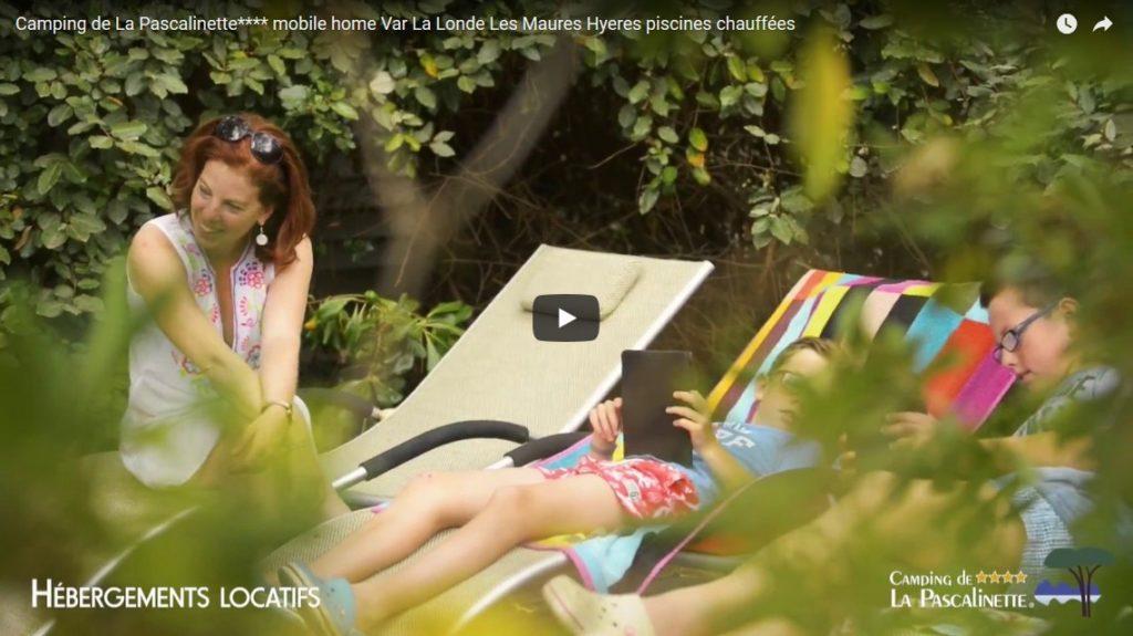 Camping de La Pascalinette**** mobile-homes dans le Var à La Londe-leslMaures avec piscines chauffées