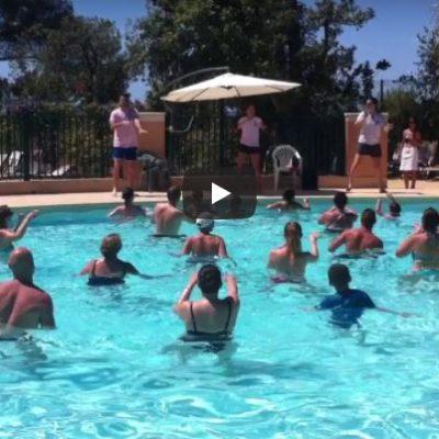 Parc aquatique : nouvelle danse de la piscine