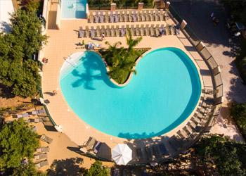 Parc aquatique camping piscines