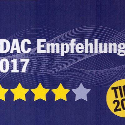 Camping 4 étoiles ADAC CampingCard