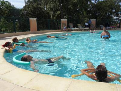 Bormes-les-Mimosas Vacances Piscine Parc aquatique Aquagym Entre amis