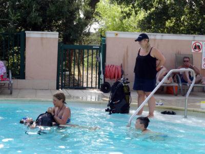 Piscine chauffée Baptême plongée Vacances