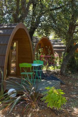 Camping nature et familial sur la Côte d'Azur