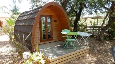 Cabane sous les arbres - camping Var