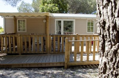 Camping Location Mobile-home PMR Accessible