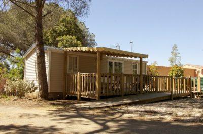 Camping avec mobile-homes dédiés PMR dans le Var