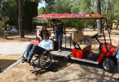 Voiturette PMR Handicap Mobilité réduite