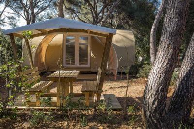 Camping Tente équipée Détente Confort Convivialité Nature