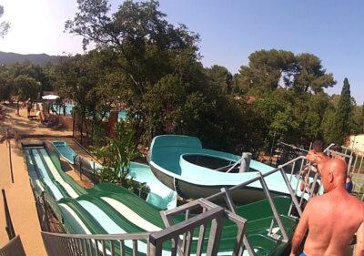 Camping Var Toboggan aquatique Jeux aquatiques Piscine chauffée