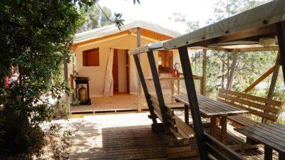 Louer bungalow camping Var pas cher