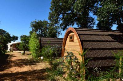 Camping Cote d'azur Cabanes Vacances Nature Famille