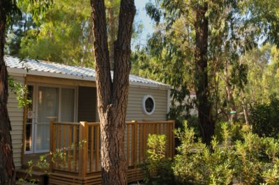 Mobile-home Luxe Famille Camping Plage Hyères