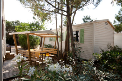 Location de mobile-home en camping dans le Var