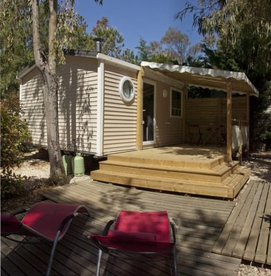Location Mobile-home Climatisation - camping Porquerolles