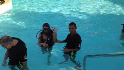 Baptême de plongée Piscine chauffée Parc aquatique