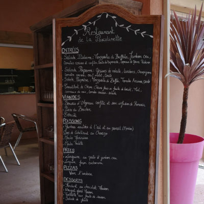 Le restaurant au camping 4 étoiles dans le Var