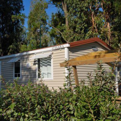 Location mobile-home climatisé Var camping piscines chauffées