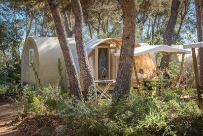Camping en pleine nature dans le Var