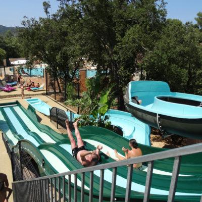 Parc aquatique au camping