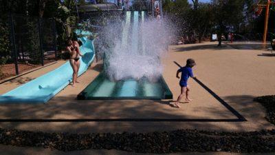 Toboggan aquatique Jeux d'eau Piscine chauffée