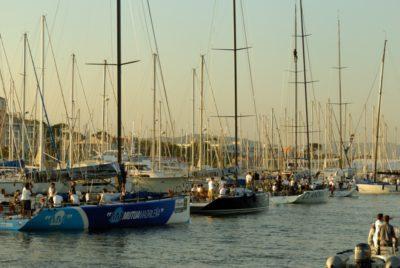 Camping près du port d'Hyères