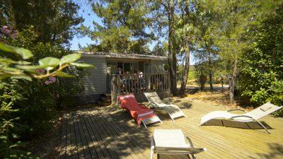 Mobile-home Super luxe en camping 4 étoiles dans le Var