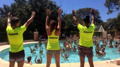 Animations Var piscine du camping
