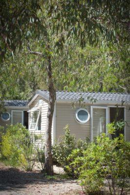 Sud de la France Mobile-home climatisation Vacances Parc aquatique Familles