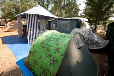 Confort tentes caravane camping La Londe