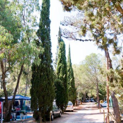 Emplacements  pour caravanes et camping-cars dans le Var