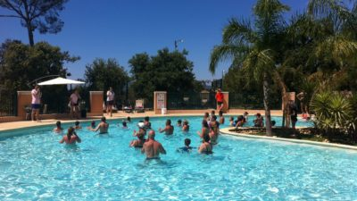 Animation Piscine Aquagym Soleil