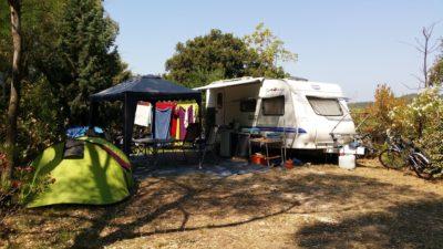 Caravaning en camping familial Var