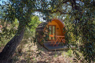 Camping Massif des Maures Pas cher Cabanes Vacances Atypique