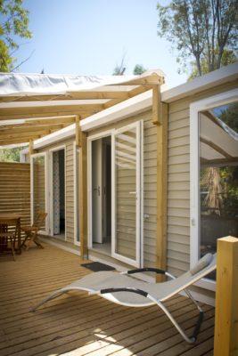 Mobile-home Espace Luxe Premium Terrasse Soleil
