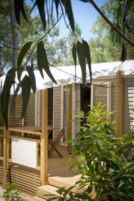 Mobile-home Premium en camping 4 étoiles à La Londe