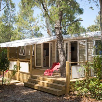 Location mobile-home Luxe La Londe 3 chambres, 6 personnes