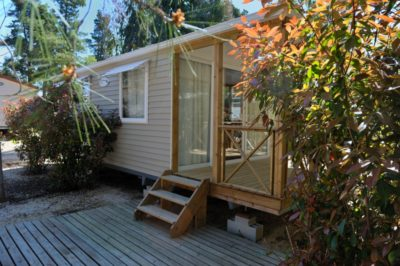 Camping 4* mobile-home premium Provence Equipé