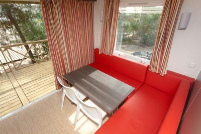 Mobile-home de luxe en camping 4 étoiles dans le Var