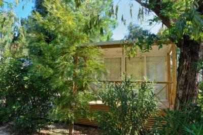camping naturel exceptionnel bungalow premium