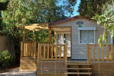 Camping Côte d'Azur Mobile-home premium Séjour Amis