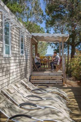 Vacances Bormes-les-Mimosas Mobile-home Climatisation Groupe