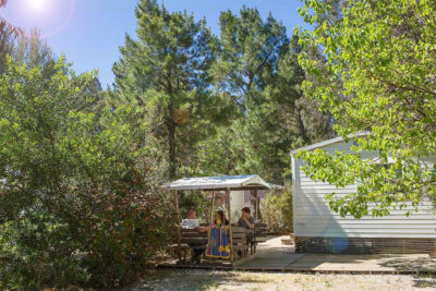 Camping Massif des Maures Mobile-home Standing Nature