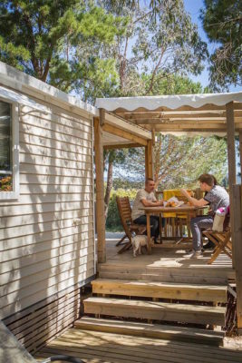 Camping La-Londe-les-Maures Mobile-home terrasses