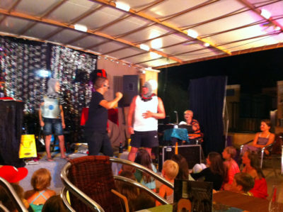 Animation magie camping Provence