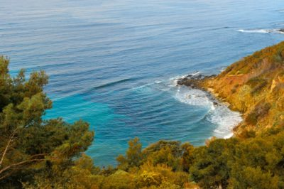 Camping près du Cap Bénat