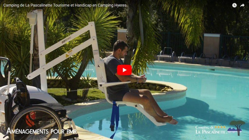 Vos vacances en camping dna le Var Tourisme et Handicap