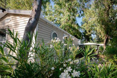 Camping La-Londe-les-Maures Vacances Mobile-home Equipé Climatisé Confort Nature