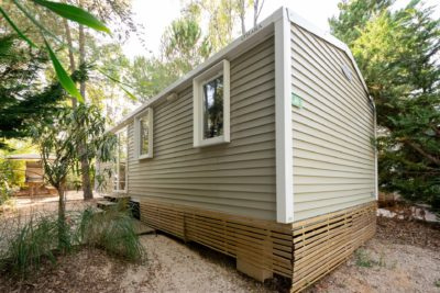Camping Mobile-home budget - vacances