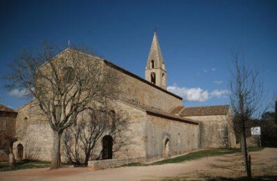 Extérieur abbaye du Thoronet